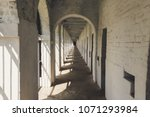 Long Corridor In Cellular Jail...