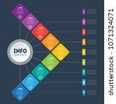 business presentation concept... | Shutterstock .eps vector #1071324071