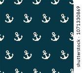 retro anchor. seamless vector... | Shutterstock .eps vector #1071330869