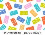 domino stones in color seamless ...