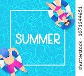 summer time background design...   Shutterstock .eps vector #1071344651