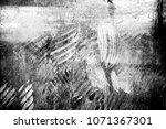 metal texture with scratches... | Shutterstock . vector #1071367301