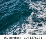 sea waves for editorial or... | Shutterstock . vector #1071376271