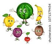 cartoon illustration of a... | Shutterstock .eps vector #1071379454