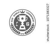golf logo icon in trendy flat...