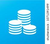 flat icon of money vector icon | Shutterstock .eps vector #1071391499