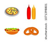 icons about food with eat ... | Shutterstock .eps vector #1071398801