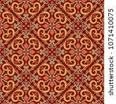 vector seamless texture.... | Shutterstock .eps vector #1071410075