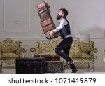 macho elegant accidentally... | Shutterstock . vector #1071419879