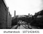 wan chai  hongkong   feb  25 ... | Shutterstock . vector #1071426431