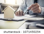businessman or lawyer... | Shutterstock . vector #1071450254