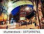 newcastle upon tyne  uk. under... | Shutterstock . vector #1071450761