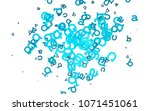 light blue vector layout with...   Shutterstock .eps vector #1071451061