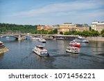 prague  czech republic   june...   Shutterstock . vector #1071456221