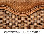 Texture Of Wicker  Furniture O...
