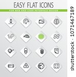 science flat vector icons for... | Shutterstock .eps vector #1071467189
