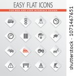 road repair vector icons for... | Shutterstock .eps vector #1071467651