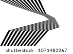 black and white stripe line...   Shutterstock .eps vector #1071482267