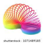 Toy Plastic Colorful Rainbow...
