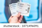 bruges  belgium   february 2018 ... | Shutterstock . vector #1071496091