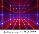 3d render  glowing lines  neon...   Shutterstock . vector #1071512969