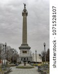 The Trenton Battle Monument is a massive column-type structure in Trenton, New Jersey, United States. It commemorates the Battle of Trenton, victory during the American Revolutionary War.