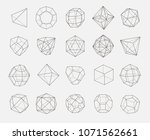 abstract geometry shapes vector ... | Shutterstock .eps vector #1071562661