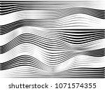 speed lines warped.motion... | Shutterstock . vector #1071574355