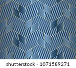 pattern with bold lines and... | Shutterstock .eps vector #1071589271