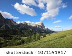 the dolomities italy  | Shutterstock . vector #1071591917