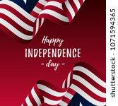 banner or poster of liberia... | Shutterstock .eps vector #1071594365