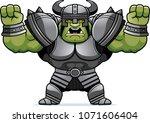 a cartoon illustration of an... | Shutterstock .eps vector #1071606404