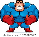 a cartoon illustration of a... | Shutterstock .eps vector #1071606527