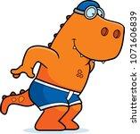 a cartoon illustration of a... | Shutterstock .eps vector #1071606839