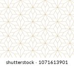 abstract geometric pattern with ... | Shutterstock .eps vector #1071613901