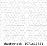 abstract geometric pattern with ... | Shutterstock .eps vector #1071613931