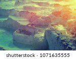 miracle of nature with healing... | Shutterstock . vector #1071635555