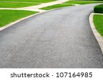 walk path in park | Shutterstock . vector #107164985