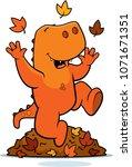 a cartoon illustration of a... | Shutterstock .eps vector #1071671351