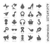 basic simple design shapes...   Shutterstock .eps vector #1071691979