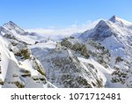 a wintertime view from mt.... | Shutterstock . vector #1071712481