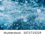abstract water texture with... | Shutterstock . vector #1071715229