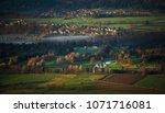 spring morning in the slovenian ... | Shutterstock . vector #1071716081