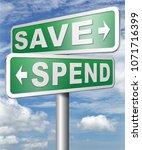 saving plan bank deposit spend...   Shutterstock . vector #1071716399