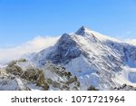 a wintertime view from mt.... | Shutterstock . vector #1071721964