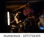 himeji  hyogo  japan   april 4  ... | Shutterstock . vector #1071726335