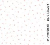 repeating pink triangles and...   Shutterstock .eps vector #1071736295
