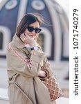 fashion details. fashion... | Shutterstock . vector #1071740279