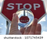 Reflections Of A Stop Signal I...