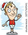 a cartoon illustration of a... | Shutterstock .eps vector #1071769541